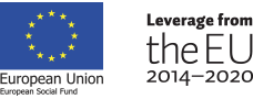European Union European Social Fund -logo, Leverage from the EU 2014-2020 -logo.